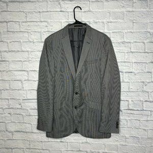 Kenneth Cole Reaction Gray Two Button Jacket